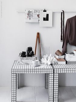image result for ikea lack table hack with mosaic tiles and graphic design