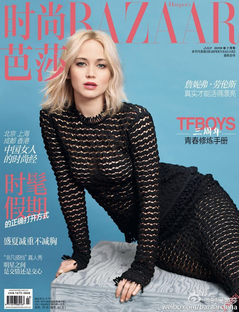 Jennifer Lawrence – Harper's Bazaar Magazine China
