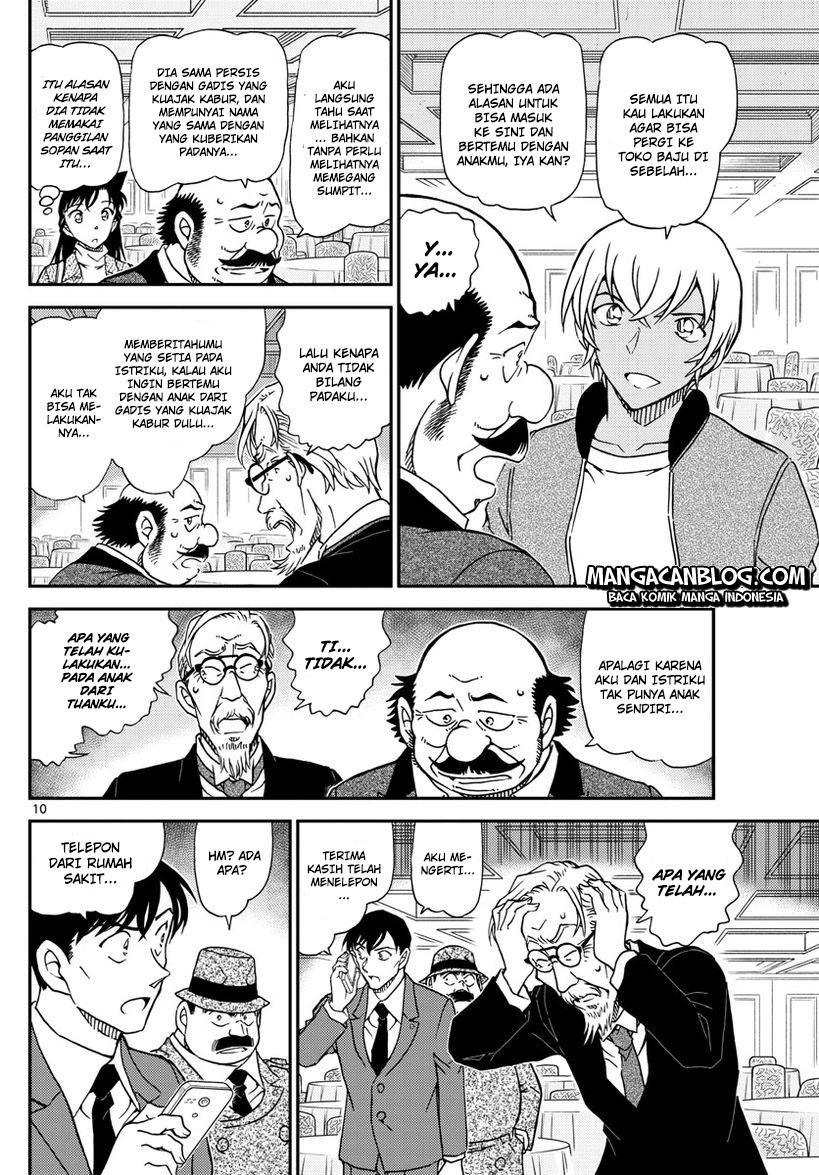 Detective Conan Chapter 1012-10