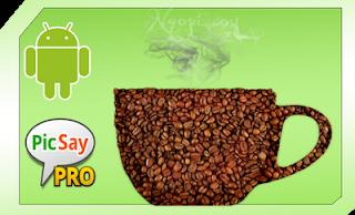 Edit foto secangkir kopi picsay pro