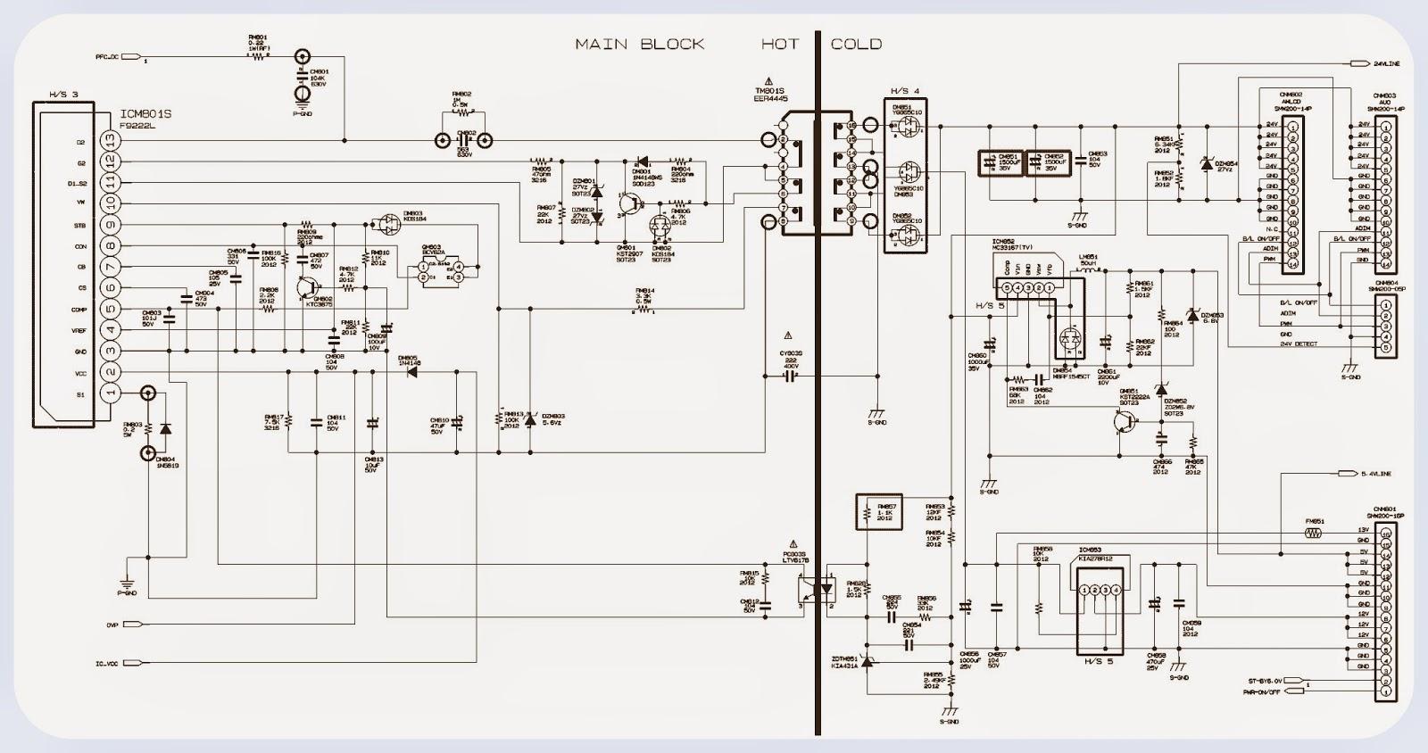 BN7997  INVERTER  SAMSUNG LCD TV  SCHEMATIC | Electro help
