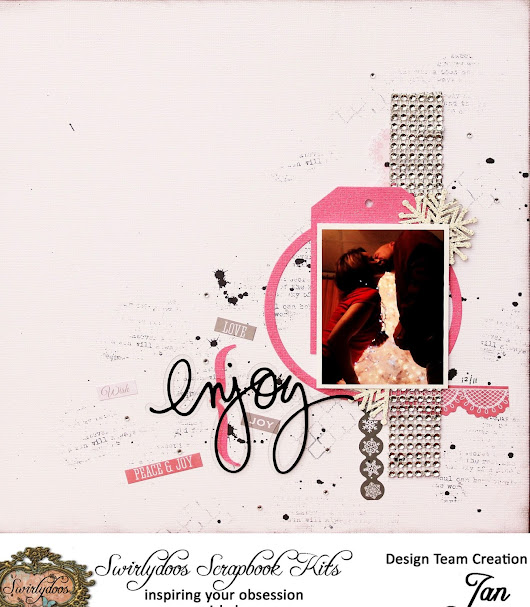 A Script for Scrappin': Tutorial Wednesday **Scrap Your Scraps with Jan**