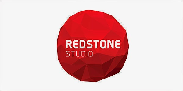 Kumpulan Desain Logo Low Poly - Redstone Studio Low Polygon Logo