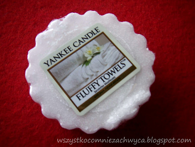 Yankee Candle, Fluffy Towels