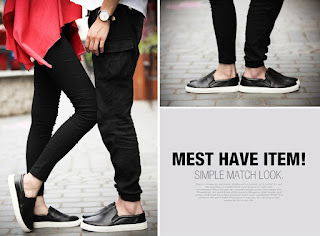 Model Sepatu Terbaru Pria Korea Juni 2016