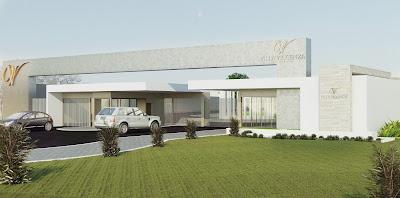 3dsul maquete eletr nica 3d projeto 3d portaria for Casa moderna vicenza