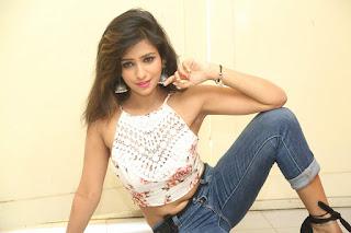 Deekshita Parvathi in a short crop top and Denim Jeans Spicy Pics Beautiful Actress Deekshita Parvathi January 2017 CelebxNext (155).JPG
