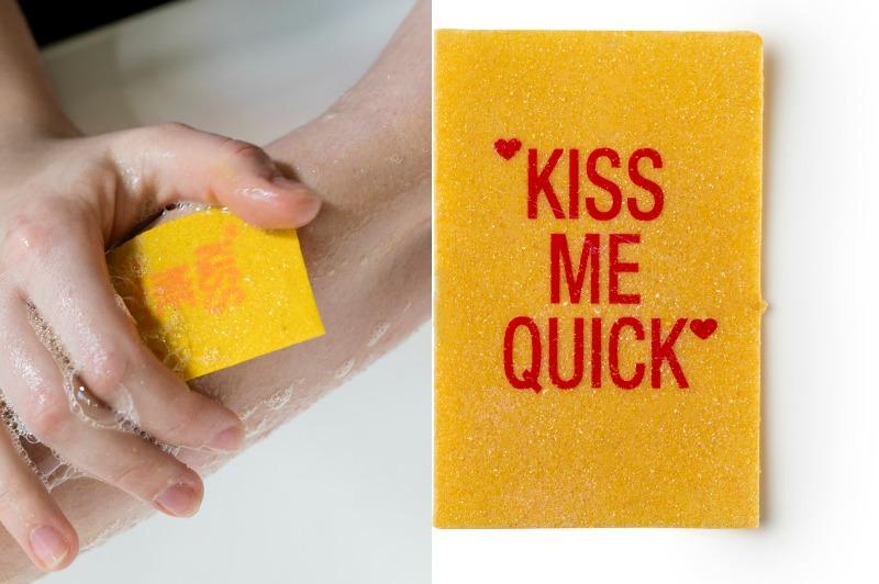 NEU! Kiss me quick  Waschpapier, 2,50 pro Stück