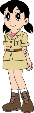 Shizuka in camp
