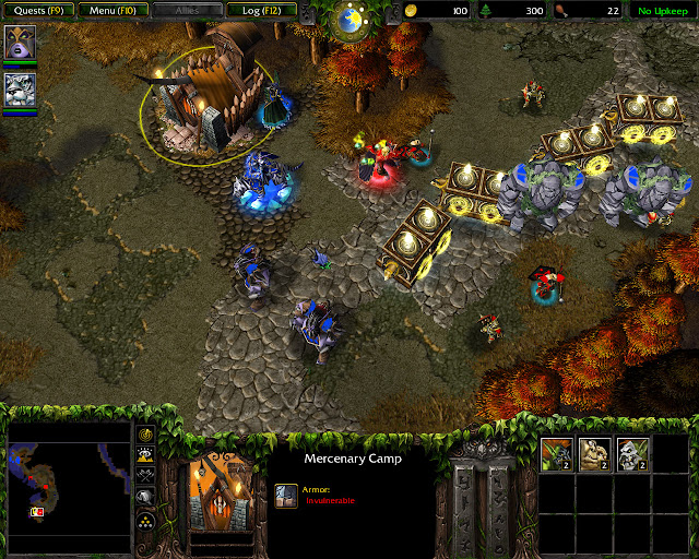 Shards of the Alliance Mission 6   Mercenary Camp   Warcraft 3: The Frozen Throne