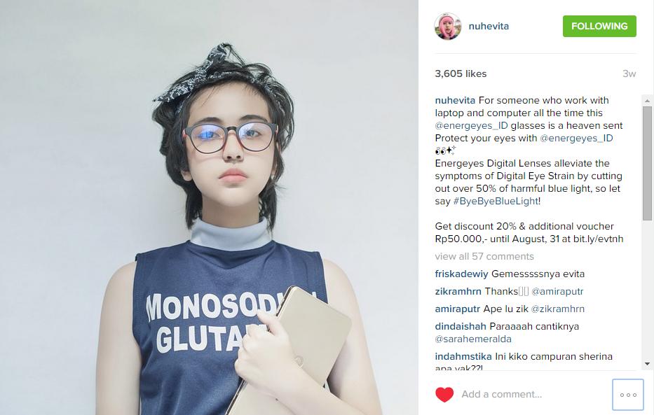Caption Instagram Endorse