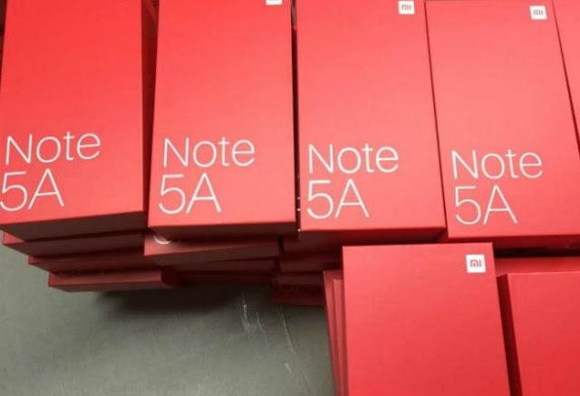 Boom, Ini Bocoran Spesifikasi Xiaomi Redmi Note 5A