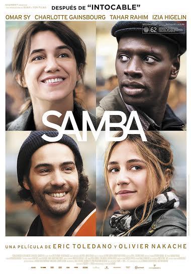 peliculas programacion festival de cine frances samba