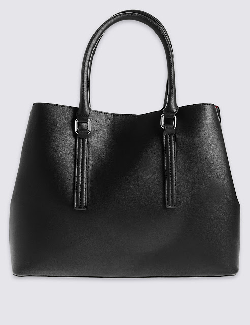 Marks and Spencer faux Leather soft tote bag