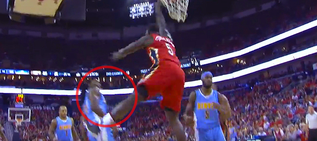 Lance Stephenson's CRAZY Poster Slam On Kenneth Faried (VIDEO)