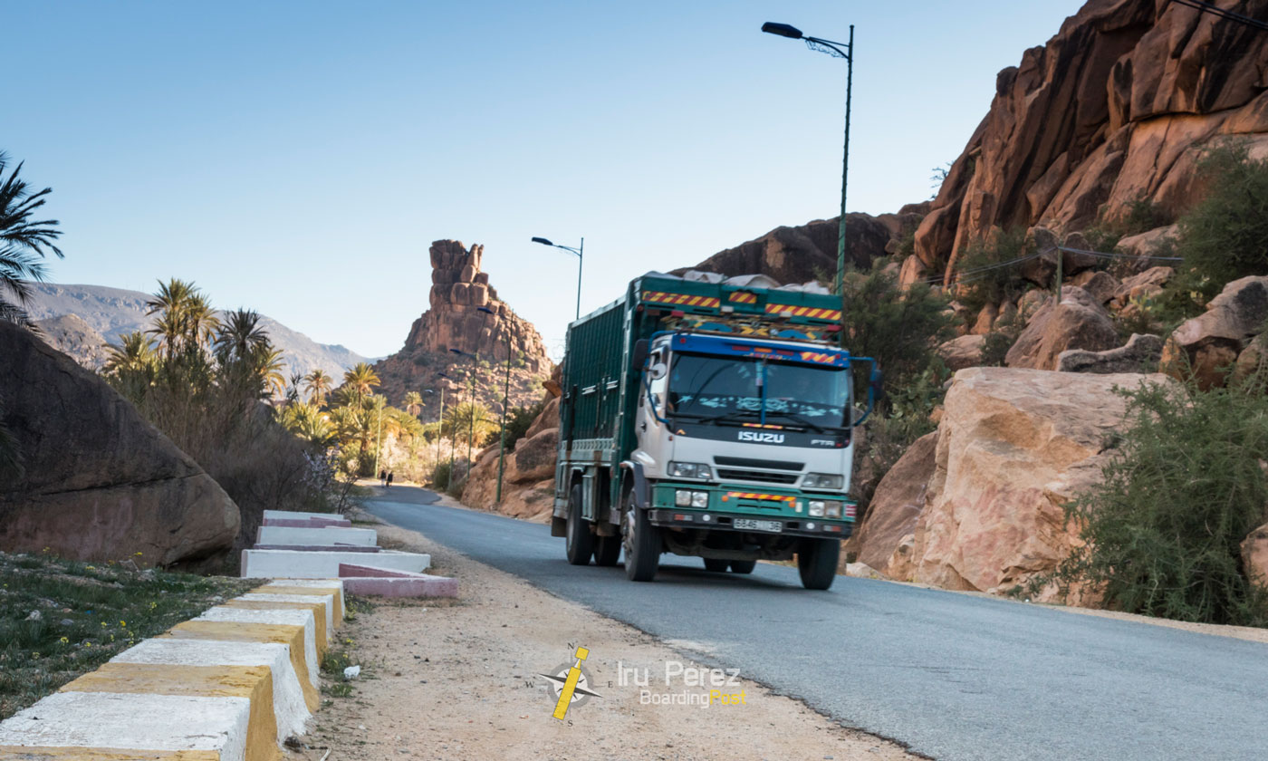 Viajar a tafraoute, marruecos