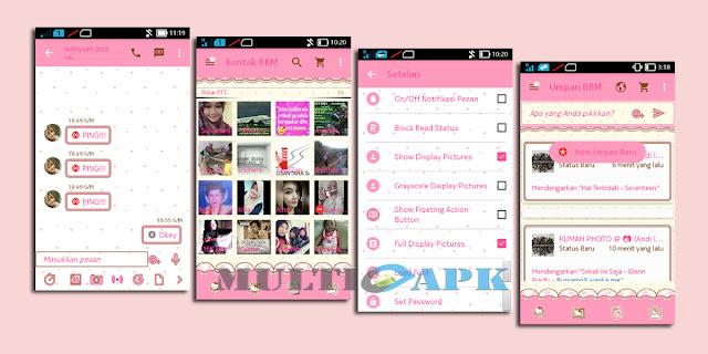 BBM Mod Tema Hello Kitty-Arr v2.12.0.9 Apk