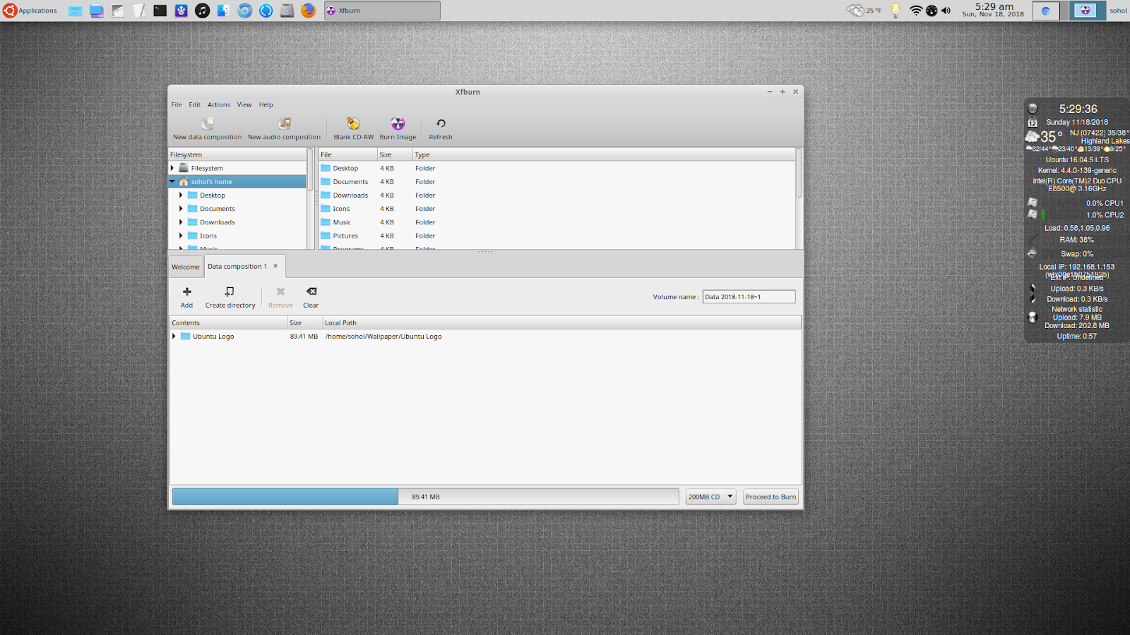 jfn linux project: Xfburn – A Simple and Easy to Use CD-DVD Burning