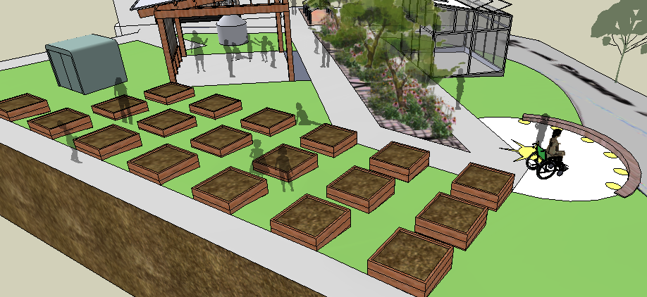 Bonnie's Blog: 3D design for K-12 and beyond: Design ... on Sketchup Backyard id=36550