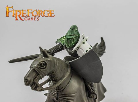 Fireforge Games: New Plastic Fantasy Albion's Knights Preview