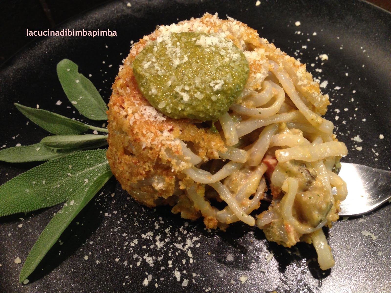 La cucina di bimba pimba timballino shirataki alla salvia for Cucinare konjac