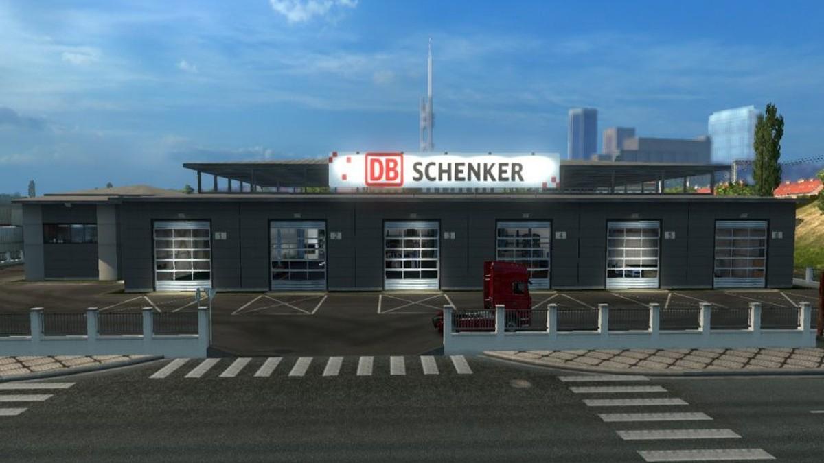 Garage DB Schenker