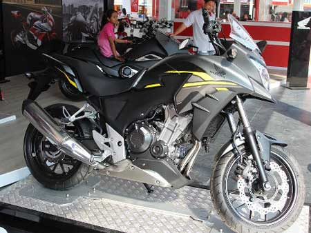 Harga cicilan Honda CB500X