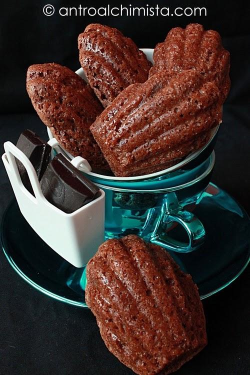 Madeleine al Cioccolato e Fior di Sale