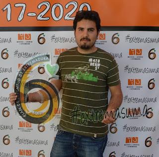 Francisco Javier Cruz ganador del diseño de logotipo para VI Plan de Juventud de Extremadura