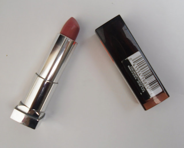 Maybelline Color Sensation Lipstick-Warm Me Up Review, Pictures & Swatches