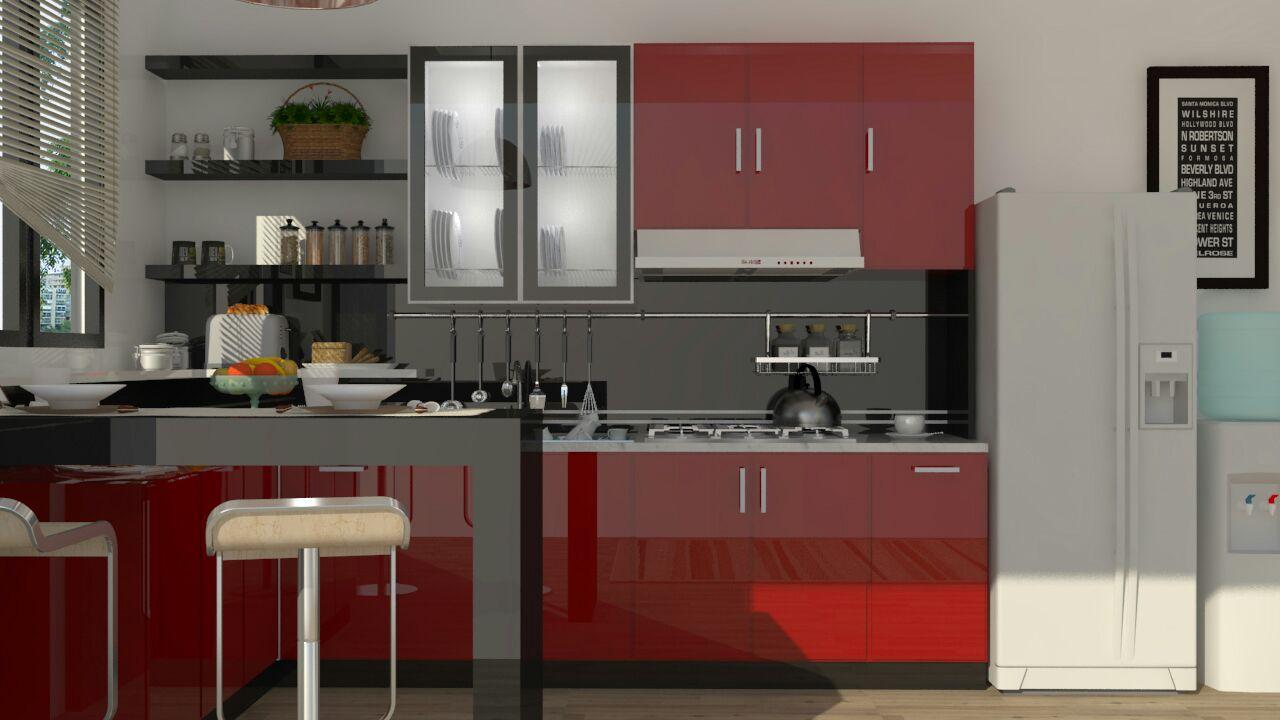 Kitchen set kanigoro jasa pembuatan kitchen set kanigoro for Kitchen set restoran