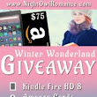 A Chance to Win a Kindle Fire, Gift Cards, and More!