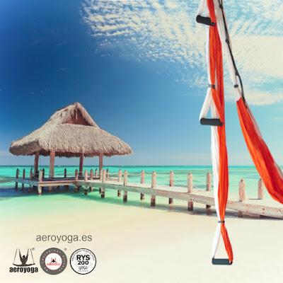 FORMACION PROFESORES AEROYOGA (YOGA AEREO) BY RAFAEL MARTINEZ,  REPUBLICA DOMINICANA