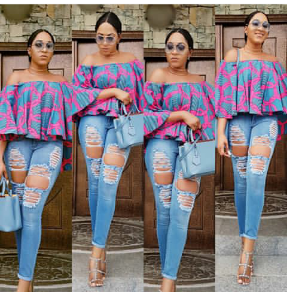 Actress Rukky Sanda Shows Off Her Breasts As She Sizzles In Braless Outfit