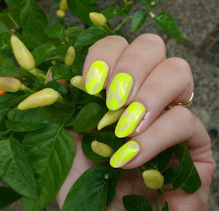 Colour Alike Yellow Glow and Vivid Lacquer VL010