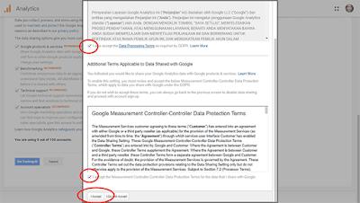 Mendaftar ke Google Analytics