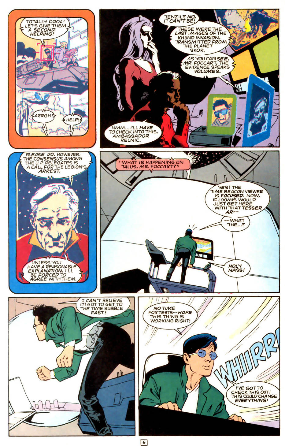 Legion of Super-Heroes (1989) 53 Page 6