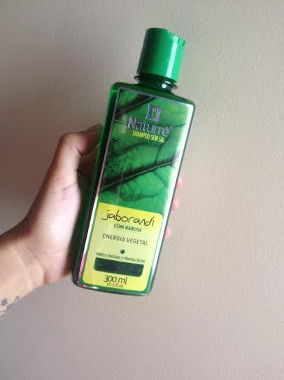 Shampoo Jaborandi e Babosa Naturré