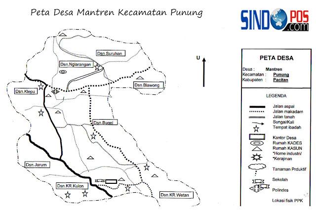 Desa Mantren Kecamatan Punung Kabupaten Pacitan