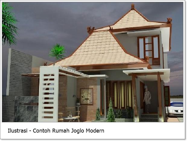 42 Gambar Rumah Joglo Modern Terbaik