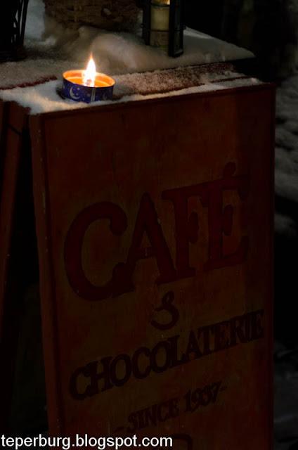 Кафе Chocolaterie во Дворике художников в Таллине