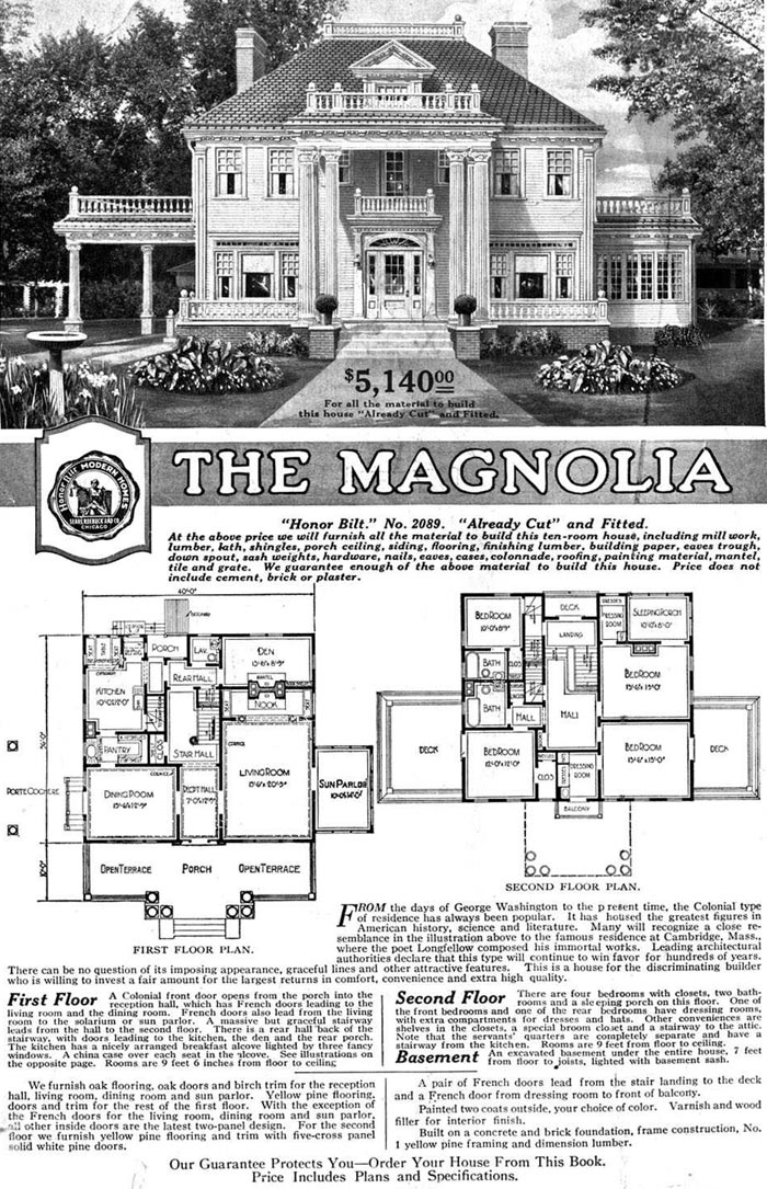Early 1900 Home Design: Tangled Trees: Sears Catalog Modern Homes