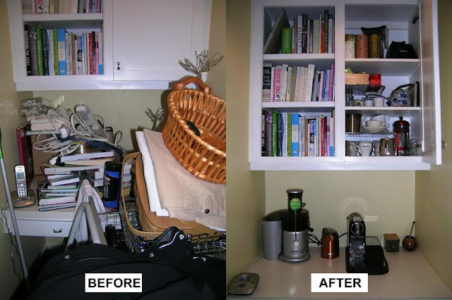 Sustainably Organized Before & After