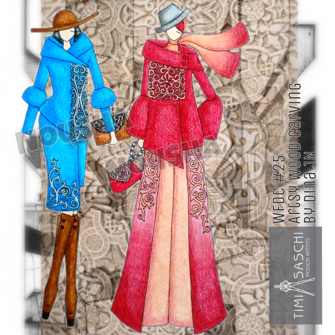 NouSha - Simple Sleek Hijab, Doll Fashion & Fashion Art Design.