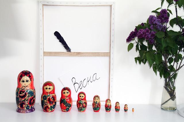 sehnsuchtssachen russischer fr hling mit matrjoschka. Black Bedroom Furniture Sets. Home Design Ideas