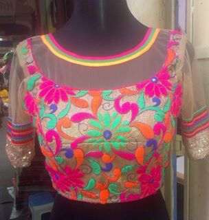 FRONT NECK BLOUSE