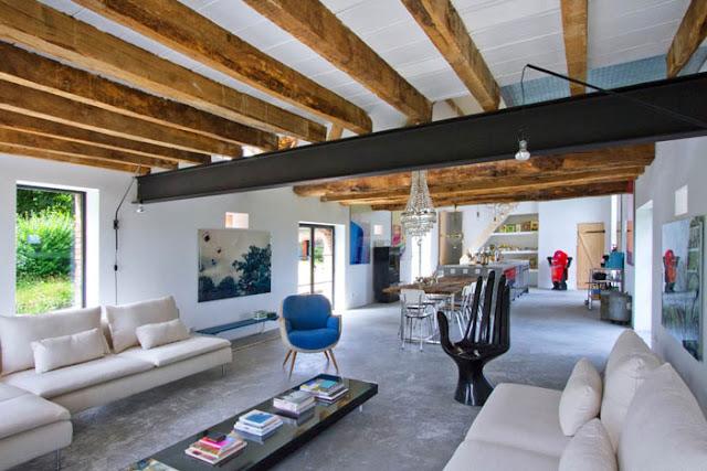 Noir blanc un style for Arredare soggiorno moderno piccolo