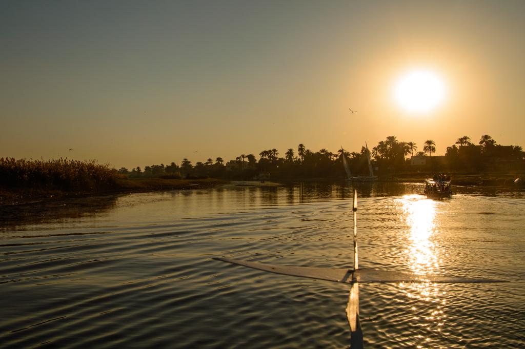 Нил на закате фото