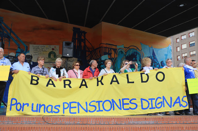 protesta de pensionistas