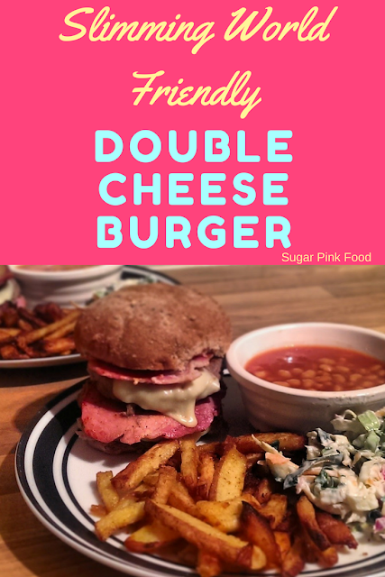 Double Bacon Cheeseburger Meal recipe slimming world